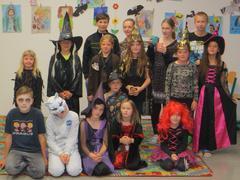 Slet čarodějnic ve školní družině